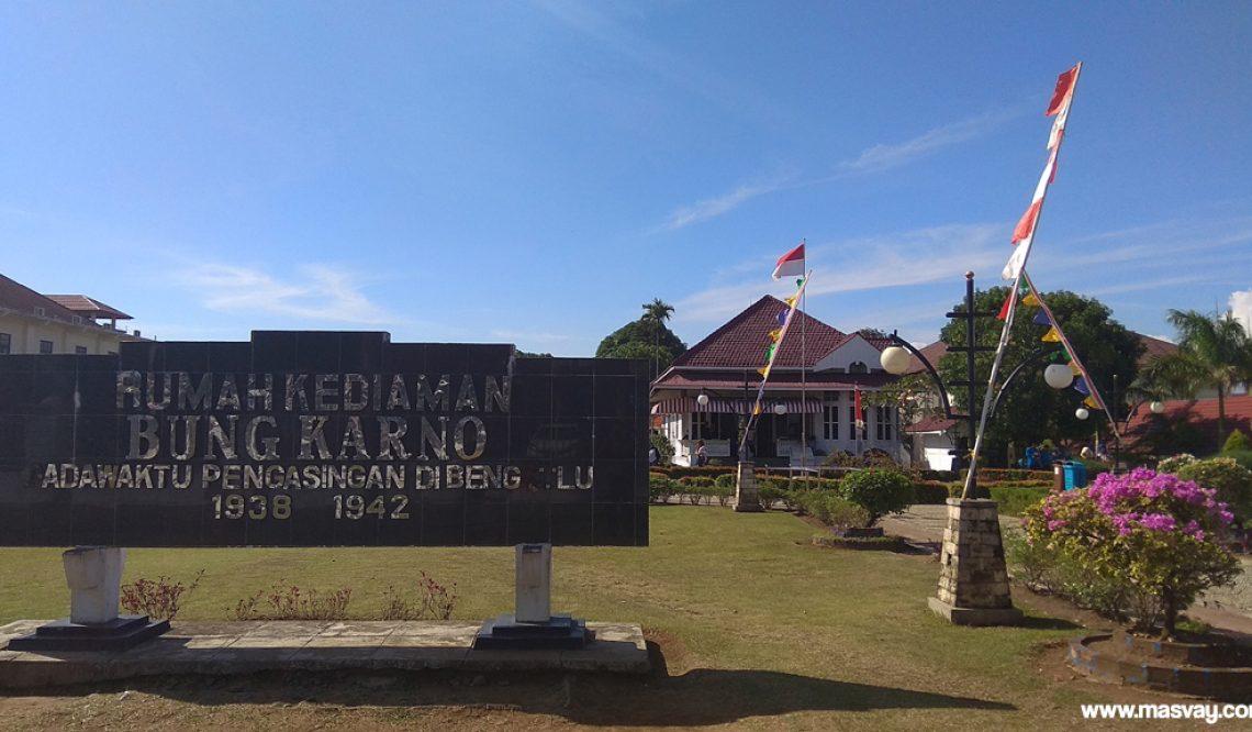 Rumah Pengasingan Bung Karno: Tempat Pertemuan Bung Karno dan Fatmawati