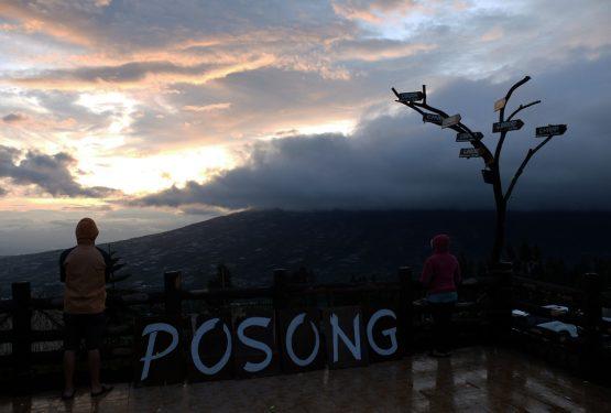 Menikmati Sunrise di Posong: Sunrise Pertama di Tahun 2019