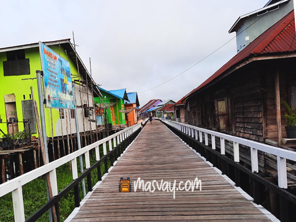 Jalan Kayu di Selimbau